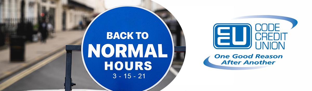 normal hours