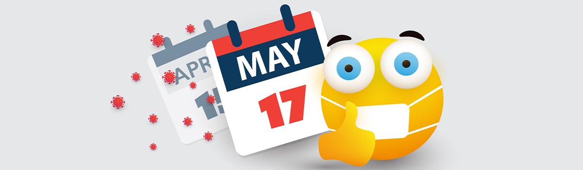 tax deadline and masked emoji